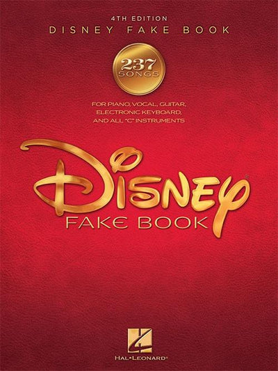Disney Fakebook 4th Edition