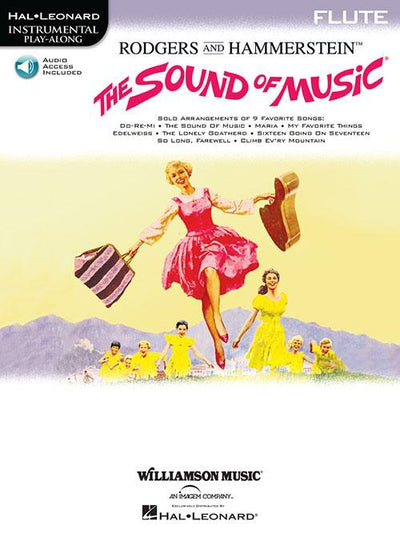 The Sound of Music Flute Play-Along Book