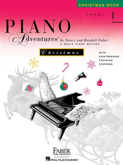 Piano Adventures Christmas Book: Level 1