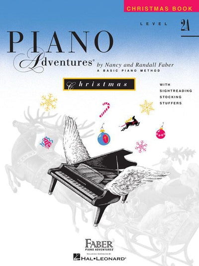 Piano Adventures Christmas Book: Level 2A