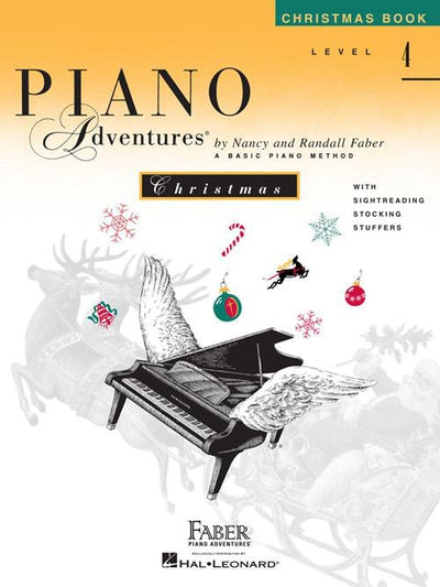 Piano Adventures Christmas Book: Level 4