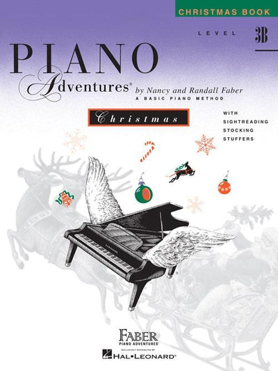 Piano Adventures Christmas Book: Level 3B