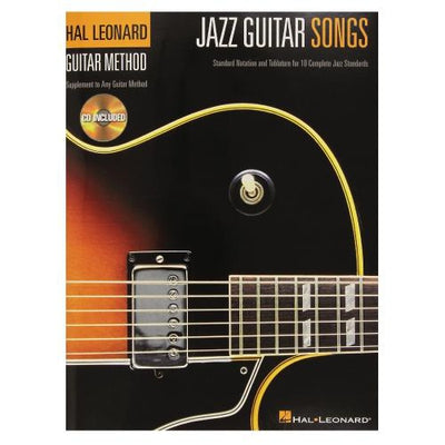 Guitar Method - Jazz Guitar Songs with CD
