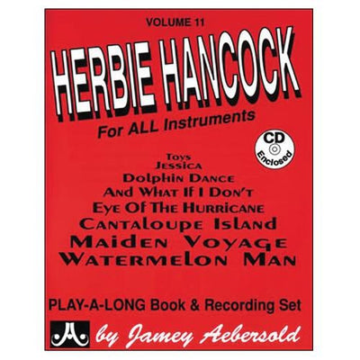 Jamey Aebersold Jazz Volume 11: Herbie Hancock Book and CD