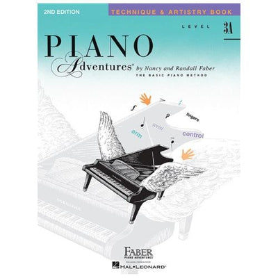 Piano Adventures Technique and Artistry Level 3A