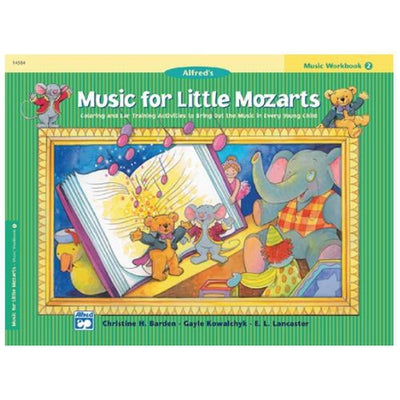 Music for Little Mozarts Workbook 2