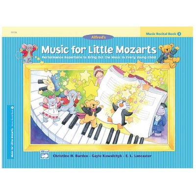 Music for Little Mozarts - Music Recital Book 3