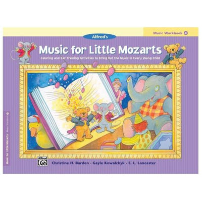 Music For Little Mozarts - Music Workbook 4