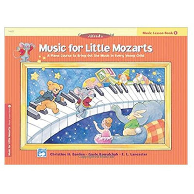 Music for Little Mozarts - Lesson Book 1
