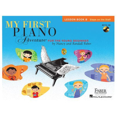 My First Piano Adventure Lesson Book B with CD