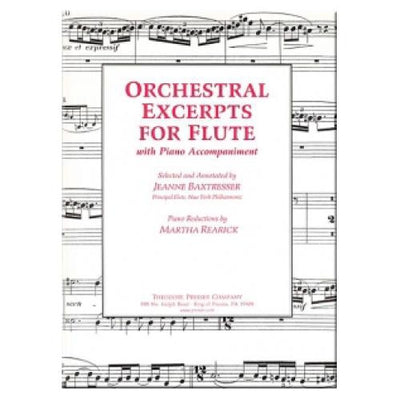 Orchestral Excerpts For Flute with Piano Accompaniment