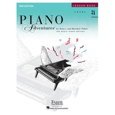 Piano Adventures Lesson Book Level 3A
