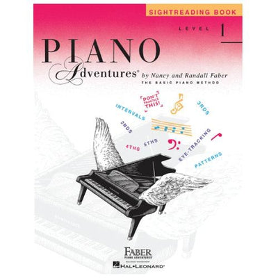 Piano Adventures Sightreading Book Level 1