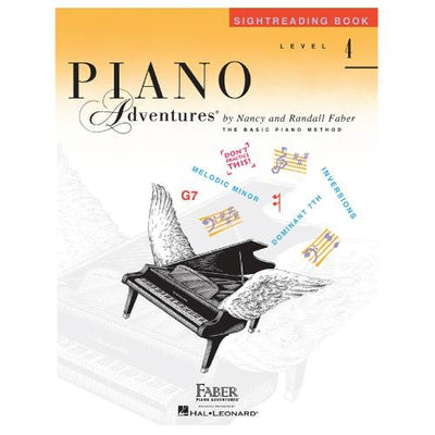 Piano Adventures Sightreading Book Level 4