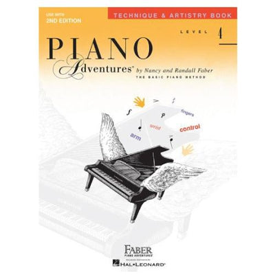 Piano Adventures Technique and Artistry Book Level 4