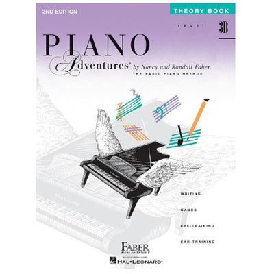 Piano Adventures Theory Book Level 3B