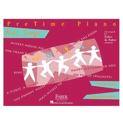 Pretime Piano Kid's Songs - Primer Level