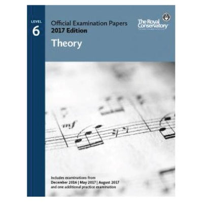 RCM 2017 Examination Papers Theory Level 6