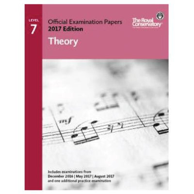 RCM 2017 Examination Papers Theory Level 7
