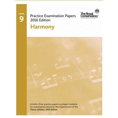 RCM 2016 Harmony Level 9 Examination Papers