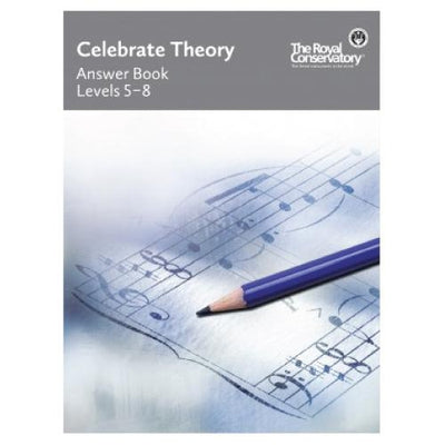 RCM Celebrate Theory Answer Book Levels 5-8