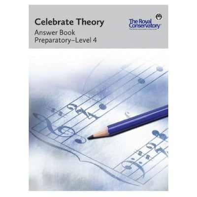 RCM Celebrate Theory Answer Book Preparatory - Level 4