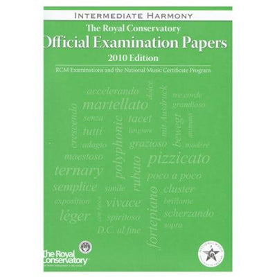 RCM Intermediate Harmony Exam Papers 2010