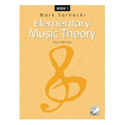 Elementary Music Theory 2nd Edition Book 1