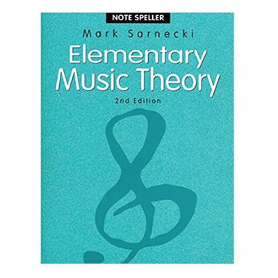 Elementary Music Theory 2nd Edition Note Speller