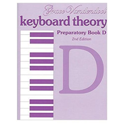 Keyboard Theory Preparatory D 2nd Edition
