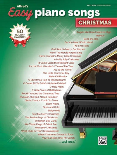 Alfred's Easy Piano Songs Christmas