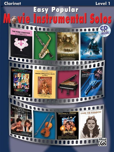 Easy Popular Movie Instrumental Solos - Clarinet