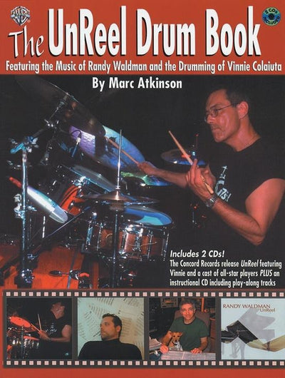 The UnReel Drum Book w/2 CD's