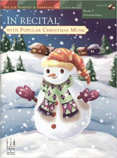 In Recital with Popular Christmas Music Bk.5 BK&CD