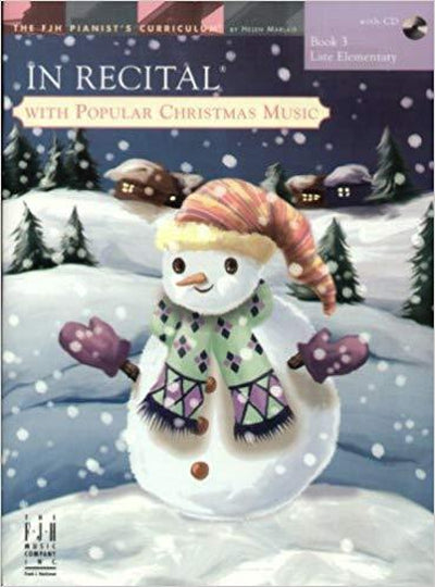 In Recital with Popular Christmas Music Bk.3 BK&CD