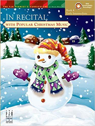 In Recital with Popular Christmas Music Bk.4 BK&CD