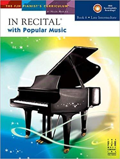 In Recital with Popular Music 6 BK&CD