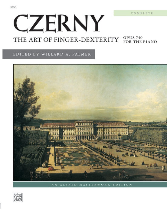 Czerny The Art of Finger Dexterity Op. 740 Palmer Edition