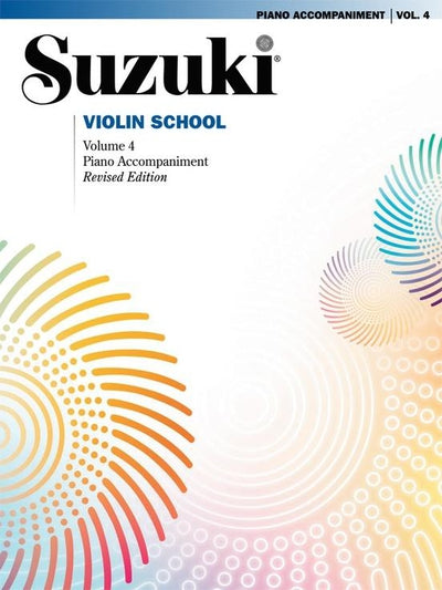 Suzuki: Violin School Violin Part Volume 4