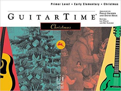 GuitarTime Christmas/Primer/Early Elementary