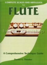 Complete Scales & Arpeggios for Flute Theaker