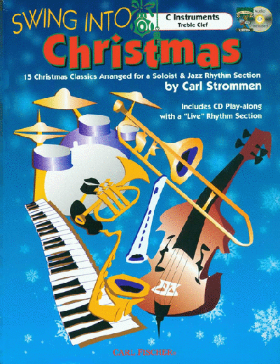 Swing Into Christmas - C Instruments Treble Clef