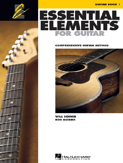 Essential Elements for Guitar – Book 1