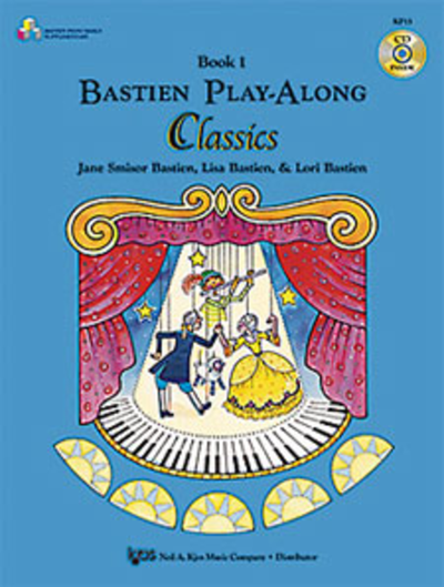 Bastien Play Along Classics Book 1 and CD