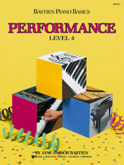 Bastien Piano Basics Performance Level 4