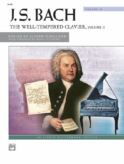 Bach Well Tempered Clavier Book 2 Palmer Edition