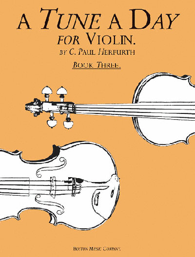 A Tune a Day - Violin Book 3