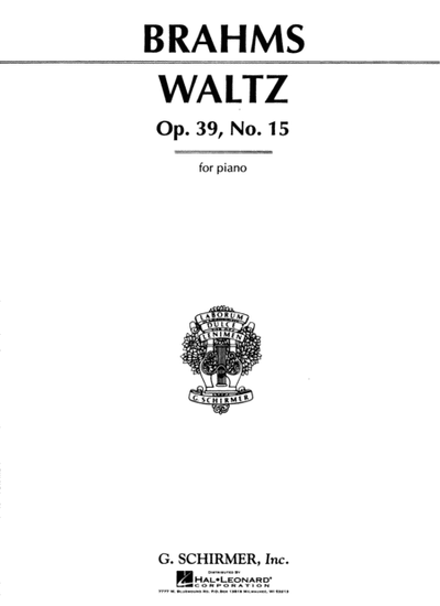 Brahms: Waltz in Ab Major, Op. 39, No. 15