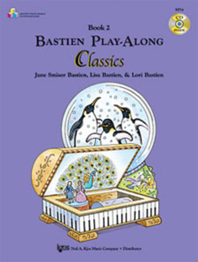 Bastien Play Along Classics Book 2 and CD