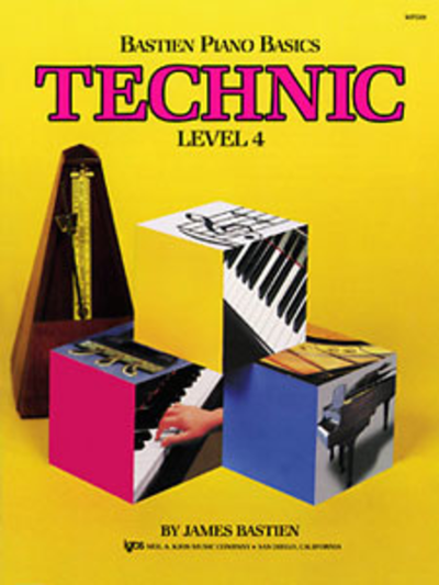 Bastien Piano Basic Technic Level 4
